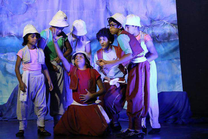 "A journey In The Depths Of The Sea "" For The children of Port Said In National Festival of Theater"